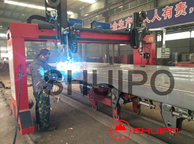 Automatic welding of Semi Trailer