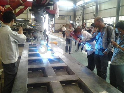 CNC Automatic Tipper Panel Welding Machine