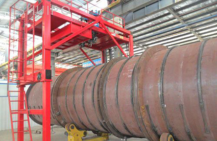 Tank Reinforcing Rib Welding Machine