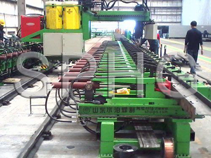 Cantilevered Stringer CNC Automatic Welding Machine