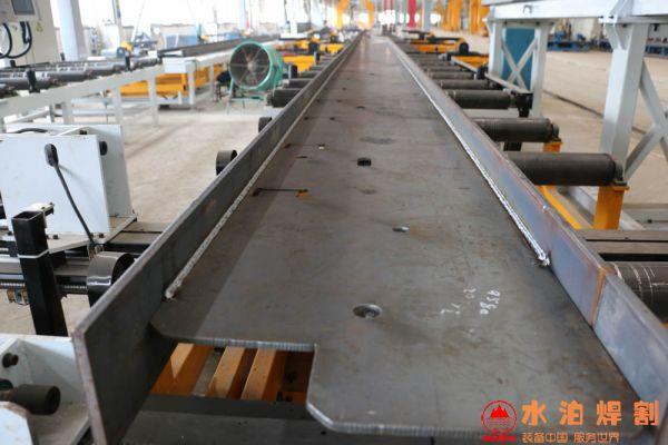 New type of girder welding production line